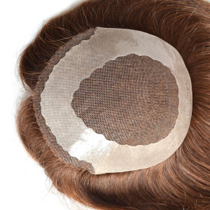 Natural Hairline Top Hair Piece Hair Topper