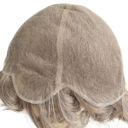 Men wig indian full lace hair system wholesale for men