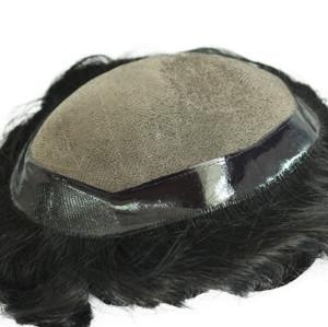 European hair swiss lace silk base hair topper pieces knot hidden