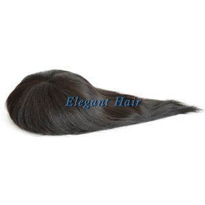 Indian remy hair full swiss lace women toupee