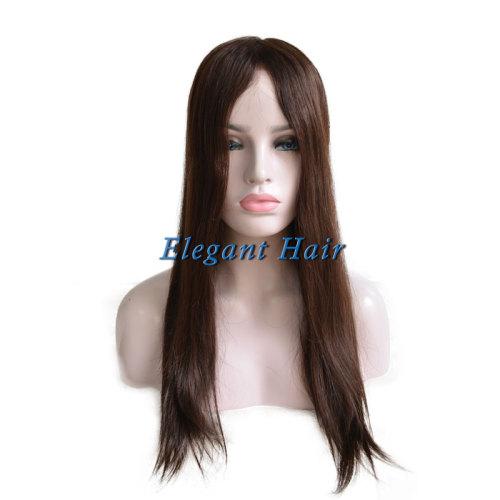 Chinese virgin hair silk top women toupee