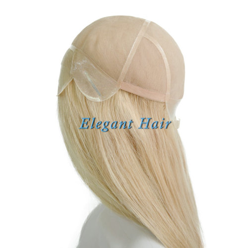 Chinese virgin hair fine mono lace wig