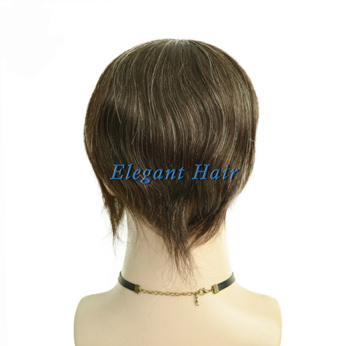 Indian remy hair full swiss lace silk top men toupee