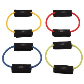 Leg Resistance Band with Padded Ankle Cuffs for Leg and Butt Workouts,Muscle Tone and Mobility