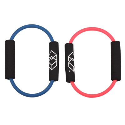 Ring Resistance Band Pilates Ring Fitness Magic Circle for Toning Thighs, Abs and Legs