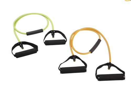 Single Resistance Band with Tube Cover for Shoulder & Arm Care,Muscle, Sports, Rehab Workouts