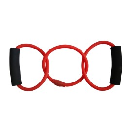 Triple Rings Resistance Band Exercise Cords for Yoga Workout,Body Building,Home Gym