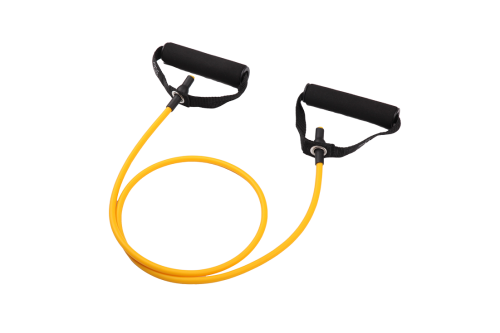 8-Piece Resistance Band Set-EVA Foam Handles,Door Anchor,Instruction Sheet and Carry Bag