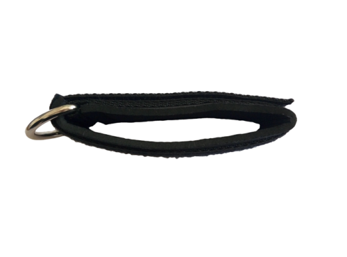 Ankle Straps for Cable Machines - Stainless Steel Ring, Adjustable Neoprene, Glute & Leg Workouts