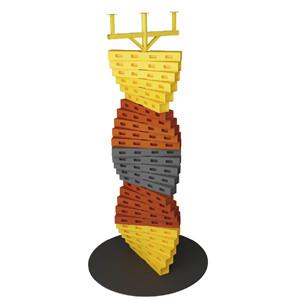 DNA climbing wall