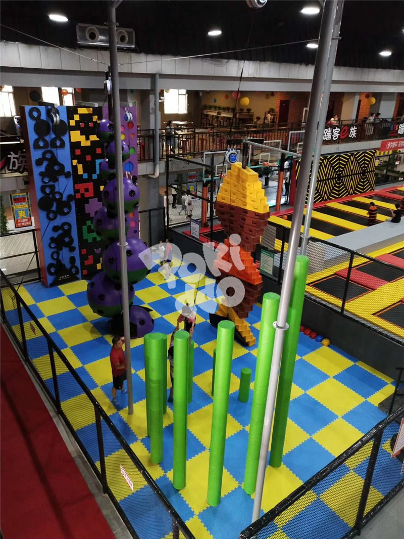 commercial trampoline park equipment