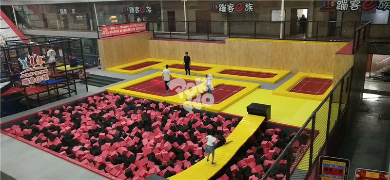 trampoline park equipment uk