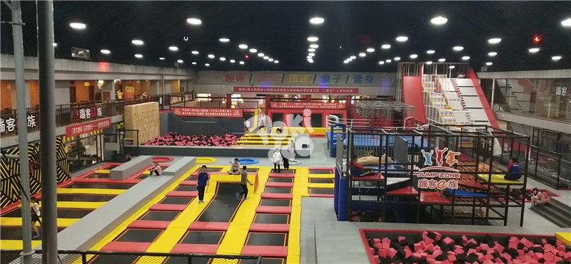 trampoline park equipment cost in india