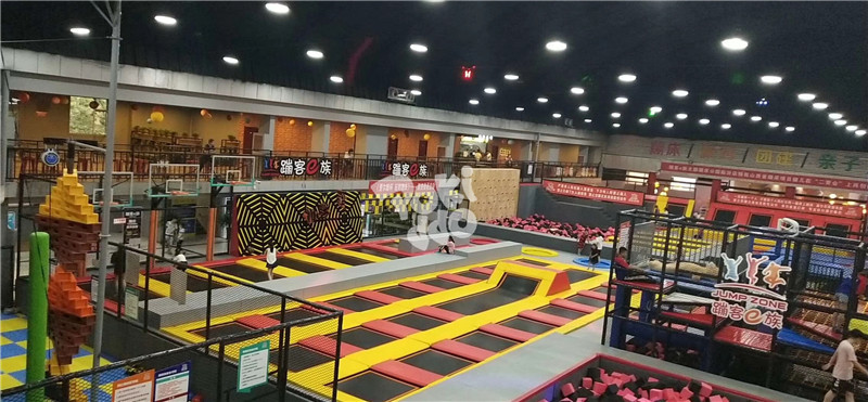 trampoline park equipment china