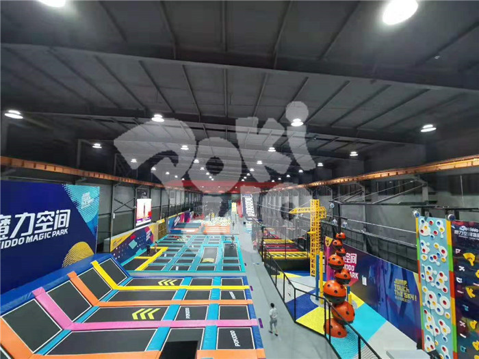 big air trampoline park franchise