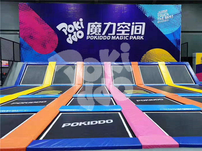 indoor trampoline park franchise