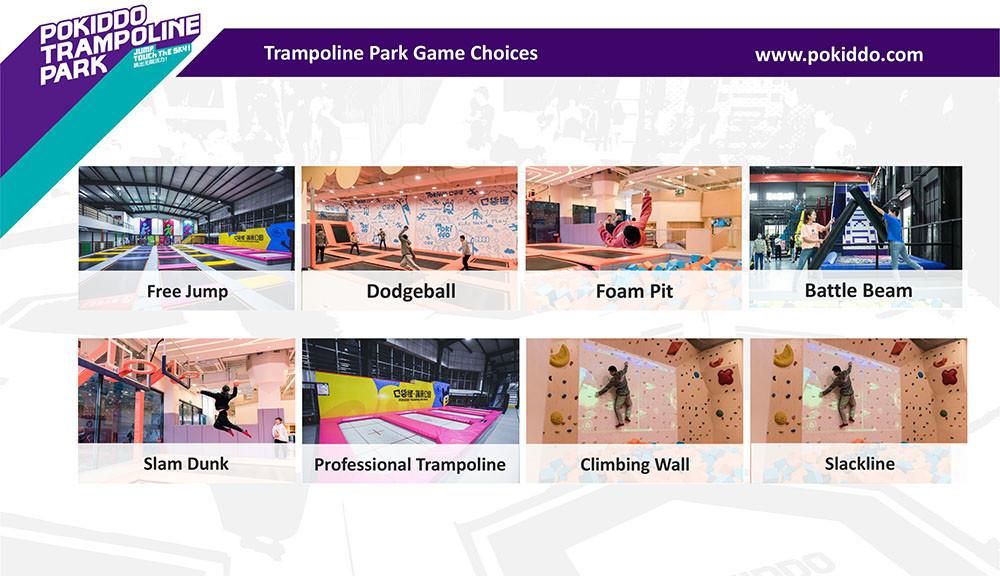 Franchise Trampoline Park games