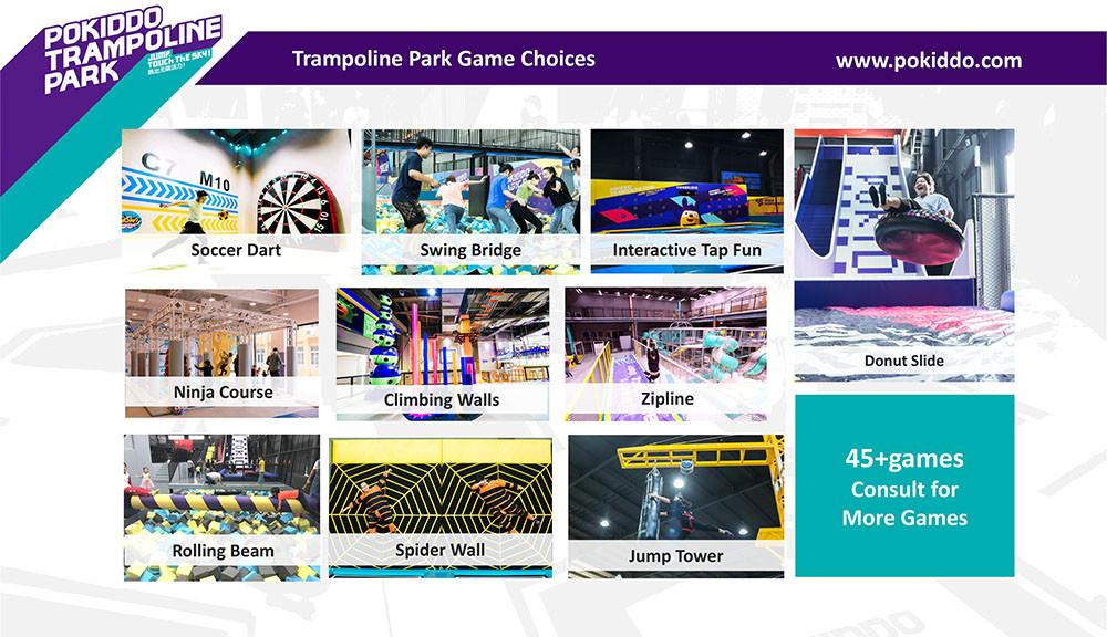 Franchise Trampoline Park new games