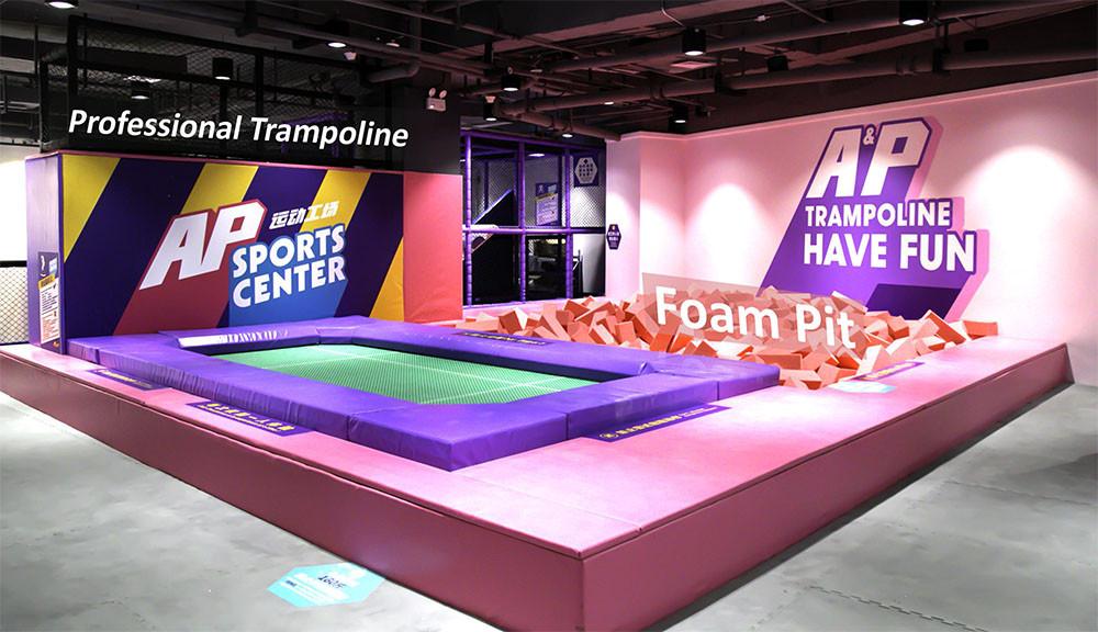Commercial Trampoline Park equipment-2