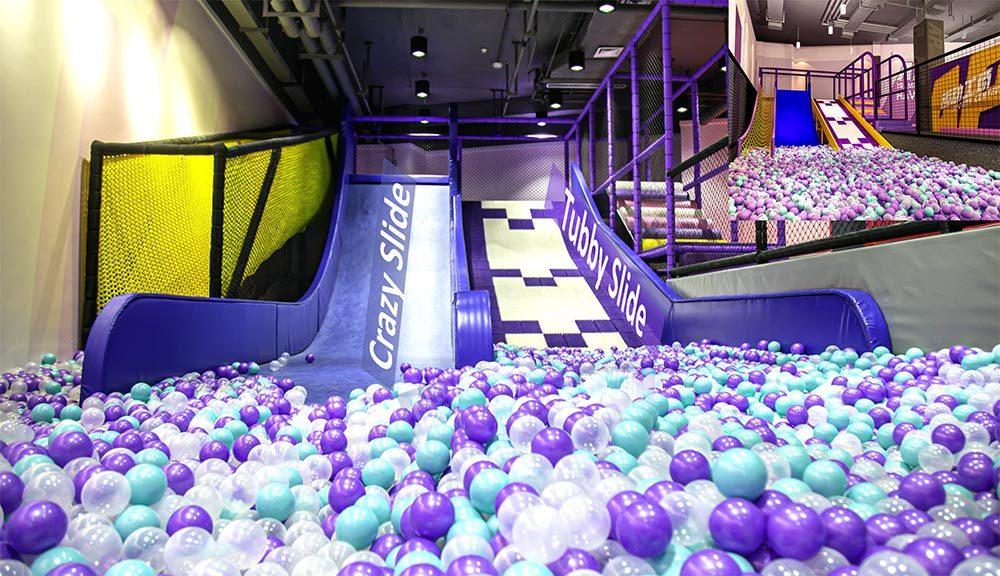 Indoor Amusement Park tubby slide