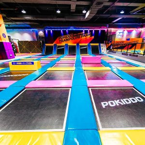 Pokiddo Indoor Franchise Trampoline Park in Zhuhai