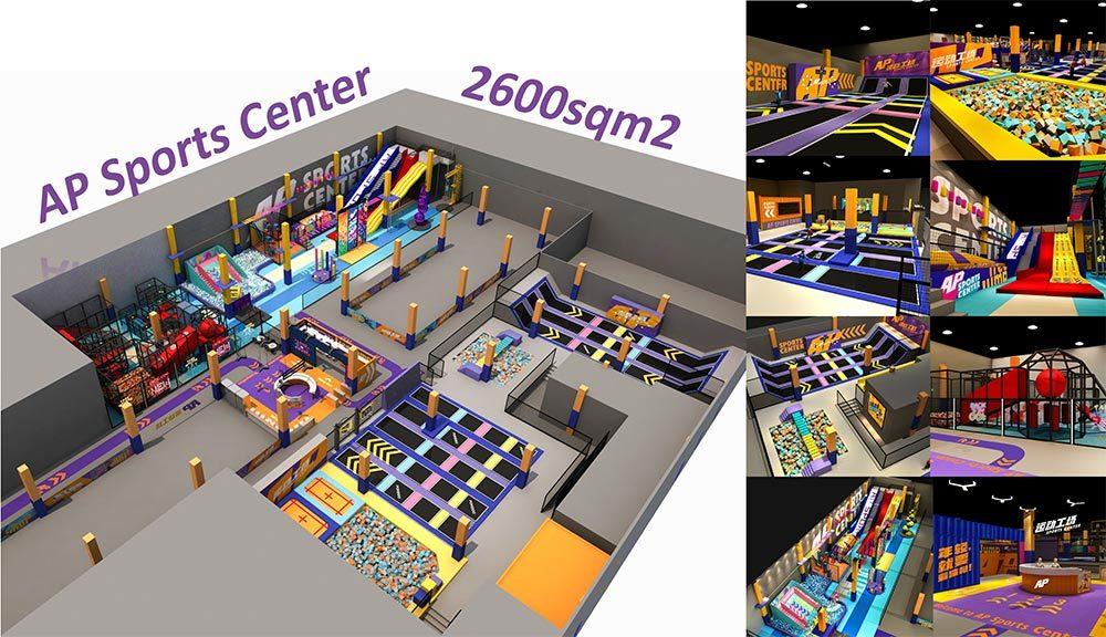 AP sports family entertainment center