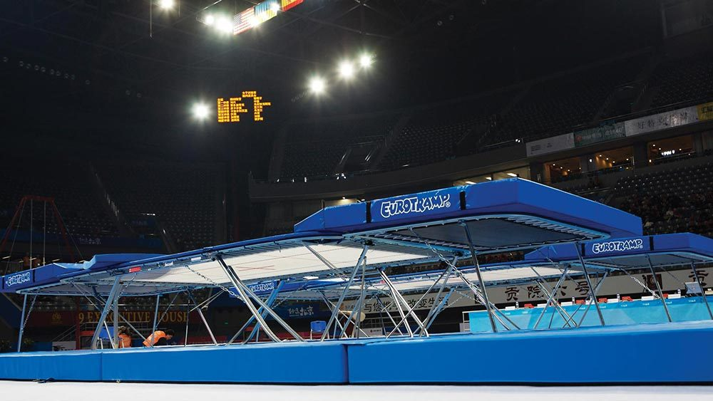 Olympic Professional Trampoline 2008
