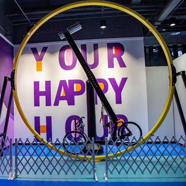 Trampoline Park / FEC New Game - 360 Bike