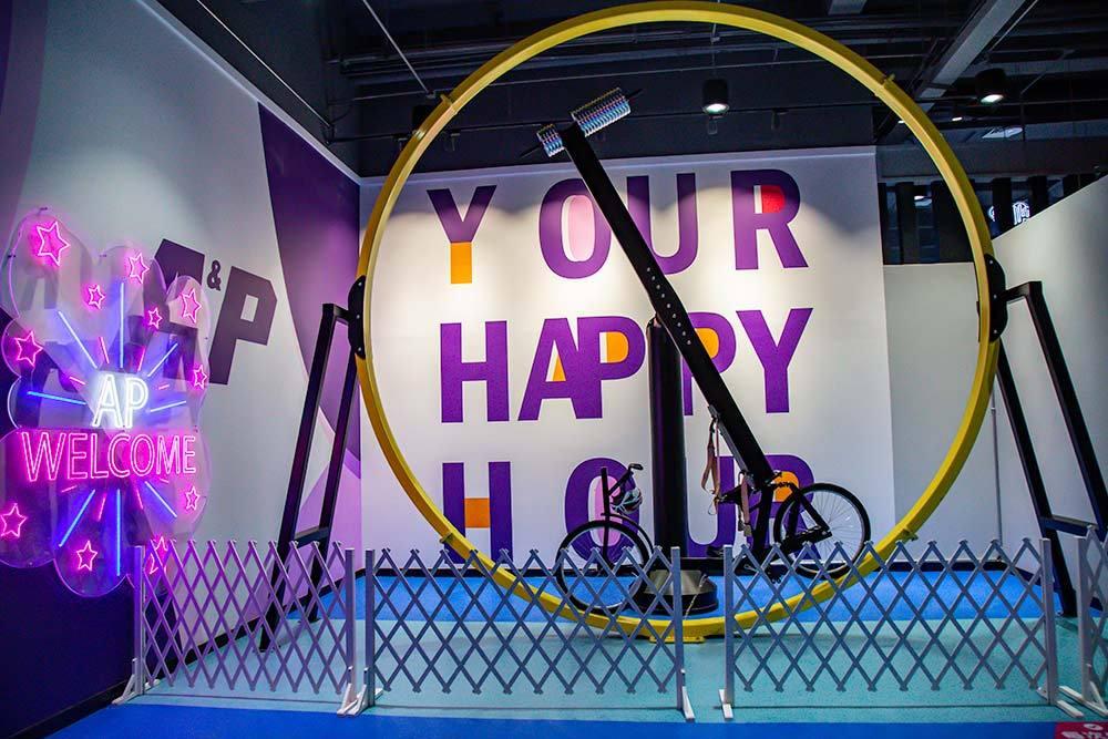 New Indoor Amusement Park Game 360 bike
