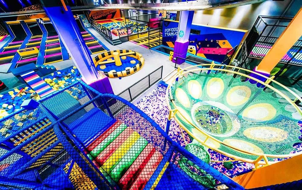 indoor amusement equipment for FEC