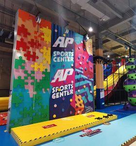 Indoor Adventure Amusement Park Art Climbing Wall
