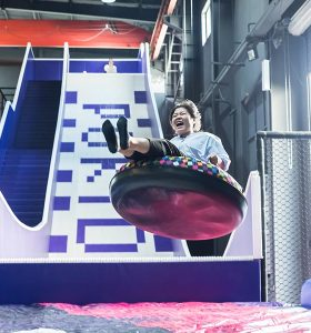 Indoor Amusement Attraction - Donut Slide/Tubby Slide/Donut Glider