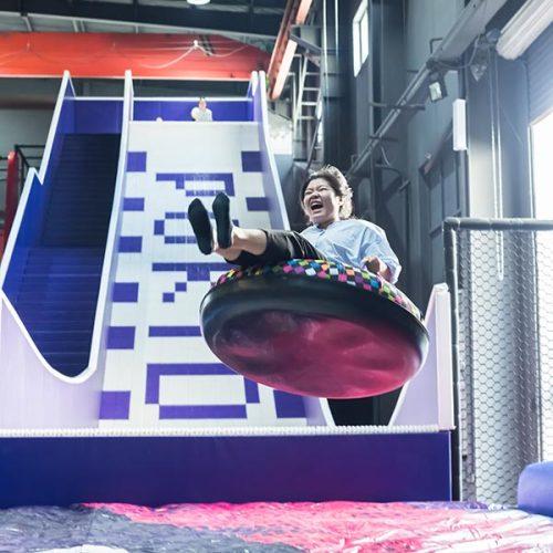 Donut Slide/Tubby Slide/Donut Glider - Indoor Amusement Attraction