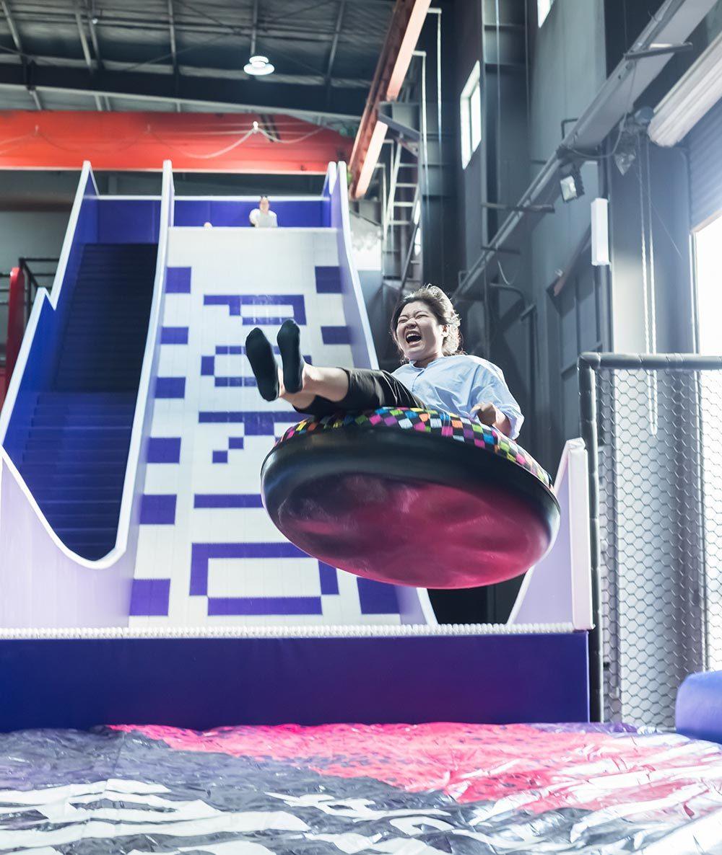 Indoor Amusement Donut Slide Tubby Slide Donut Glider (3)