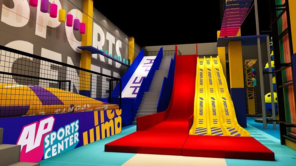 Indoor Amusement Donut Slide Tubby Slide Donut Glider (4)
