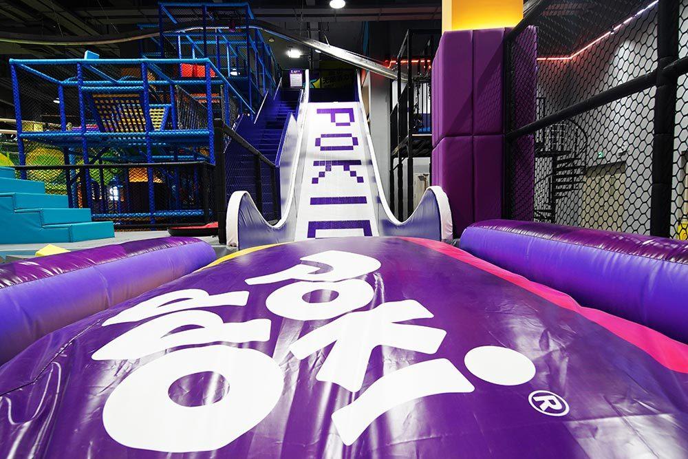 Indoor Amusement Donut Slide Tubby Slide Donut Glider (7)