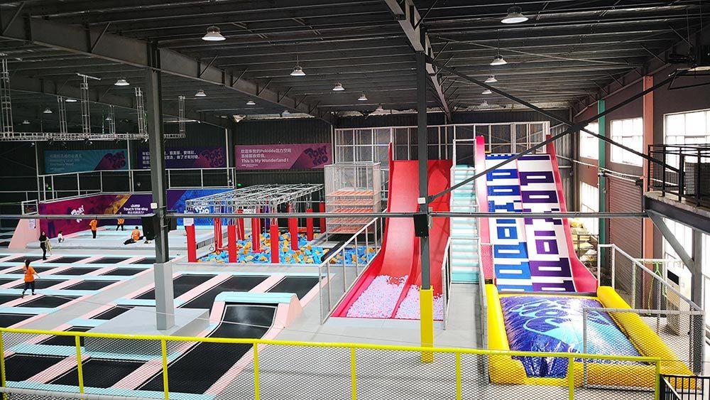 Indoor Amusement Donut Slide Tubby Slide Donut Glider (6)