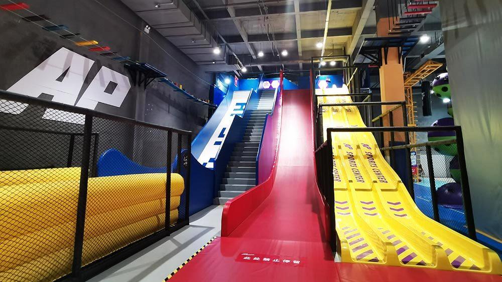 Indoor Amusement Donut Slide Tubby Slide Donut Glider (5)