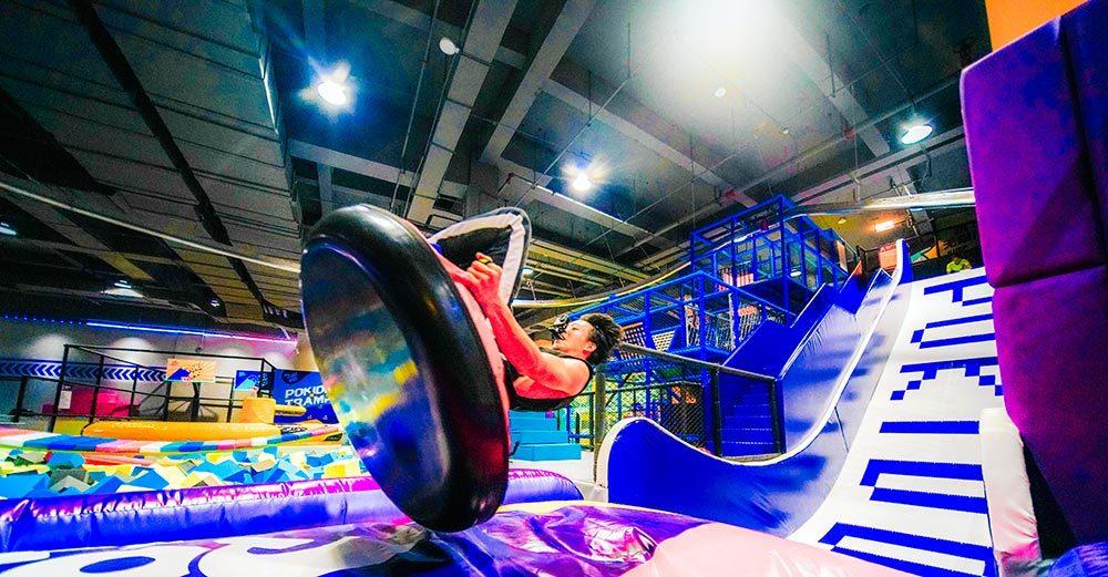 Indoor Amusement Donut Slide Tubby Slide Donut Glider (2)