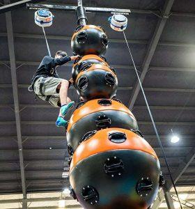 FEC Challenge Attraction Climbing Walls - Astroball Climbing