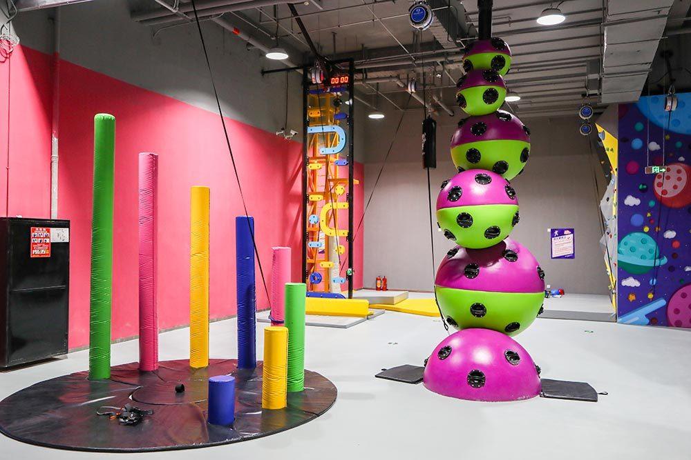 Pokiddo Challenge Attraction Astroball Climbing Wall (1)