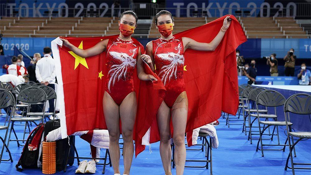 Women's Trampoline Tokyo Olympics (1)