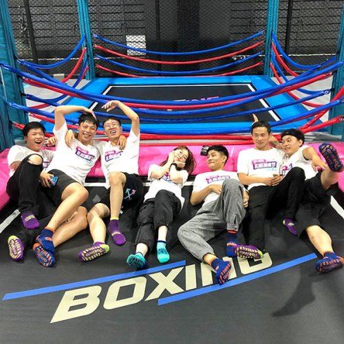 Trampoline Boxing - Indoor Trampoline Park Attraction