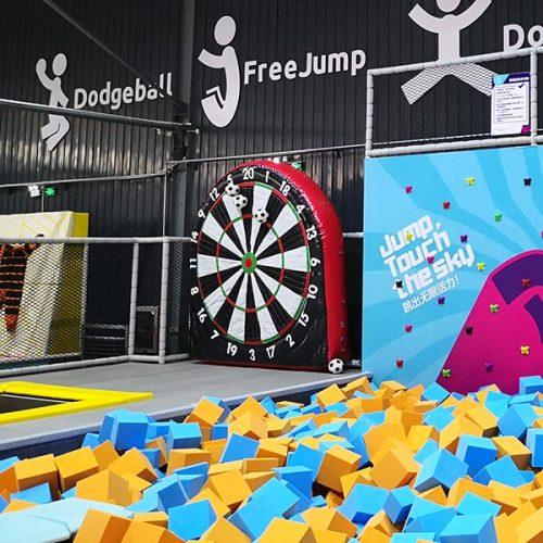 Inflatable Soccer/Football Dart - New Indoor Amusement Game