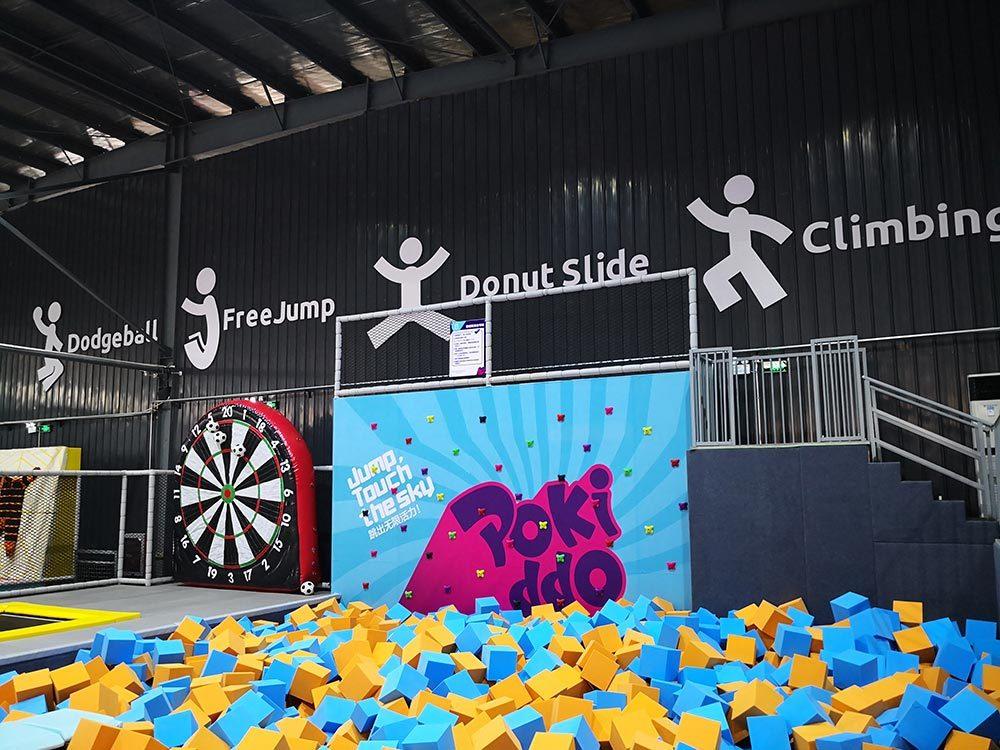 Trampoline Park Inflatable Soccer Dart(2)