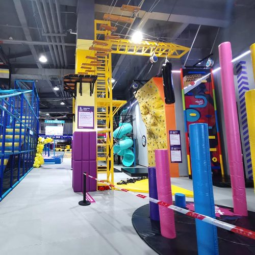 Indoor Jump Tower - Trampoline and Adventure Park Attraction