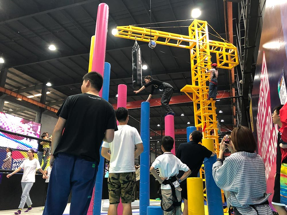 Hangzhou Pokiddo Indoor Jump Tower (2)