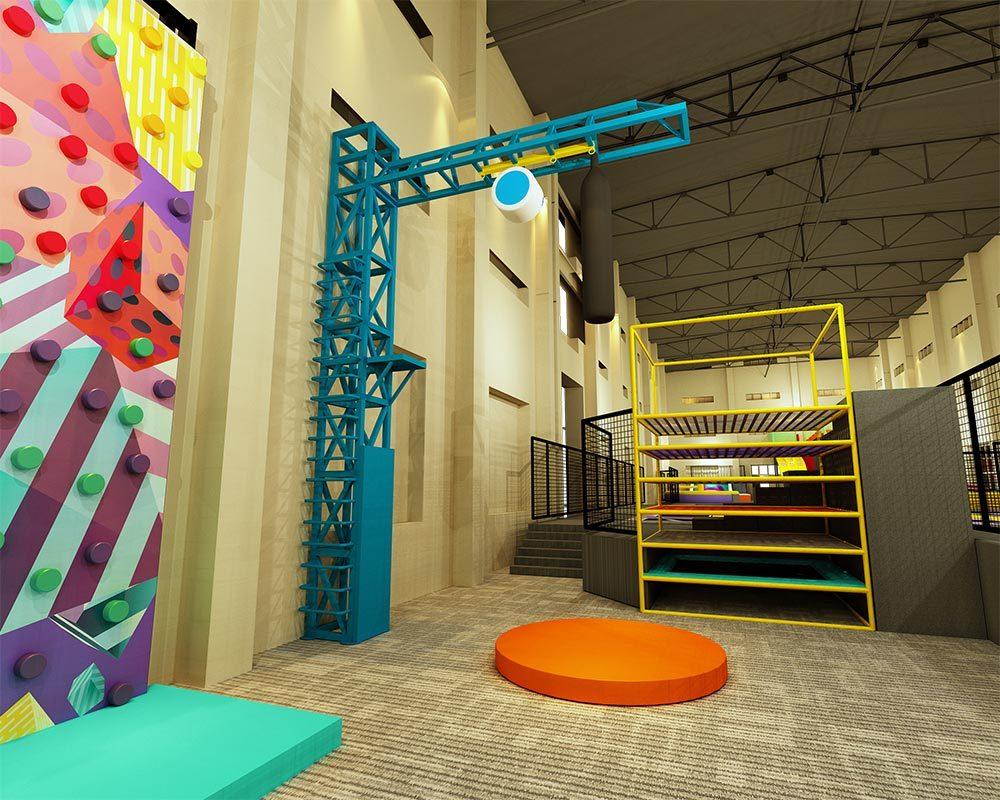 Indoor Jump Tower Design