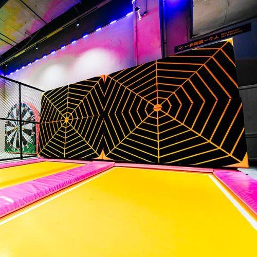 Velcro Wall/Spider Wall - Indoor Trampoline Park Attraction