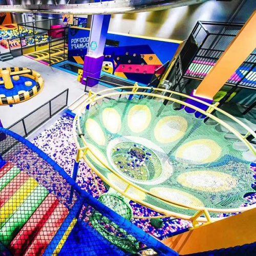 Rainbow Net - Indoor Playground Kids Safety Climbing Attraction
